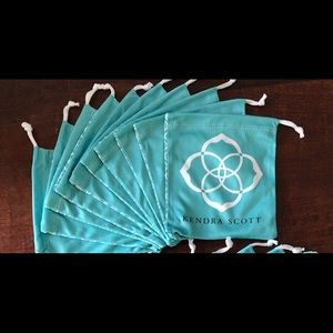 NEW Kendra Scott Dust Bags / Pouches - 10 count